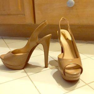 Jessica Simpson platform stiletto heels